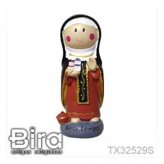 Santa Edwiges Infantil - 14cm - Cód. TX32529S