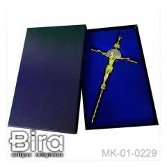 crucifixo, metal, sao bento