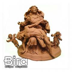 N. Sra. da Pietá em Terracota - 40cm