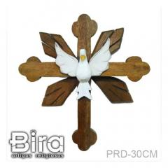 divino, espirito santo, cruz, madeira