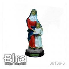 Imagem Santa Ana em Resina - 15cm - Cód. 36136-3