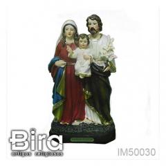 Imagem Sagrada Família em Resina - 20cm - Cód. IM50030