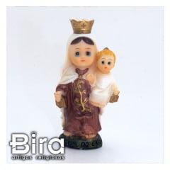 Nossa Senhora do Carmo Infantil 8cm - Cód. ALJ01B405AA