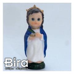 Santa Luzia Infantil - 8cm - Cód. ALJ01B405F