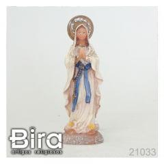 Nossa Senhora de Lourdes - 10cm - Cód. 21033