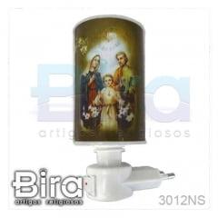 Luminária Sagrada Família - 110/220v - Cód. 3012NS