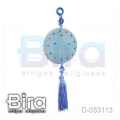 Adorno em Resina Azul N. Sra. Aparecida - 7cm - Cód. D-053113
