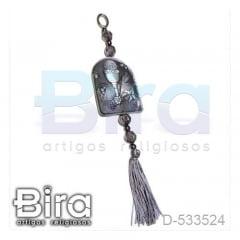 Adorno Prata em Resina Eucaristia - 9cm - Cód. D-533524
