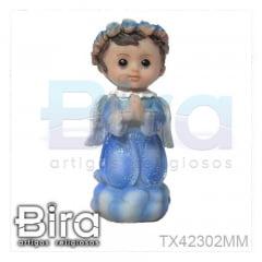 Anjo Infantil Ajoelhado - 10cm - Cód. TX42302MM