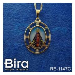 corrente medalha santos sortidos borda vazada