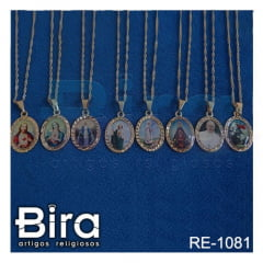 corrente medalha santos sortidos borda