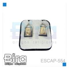 ESCAP INOX  ALTO RELEVO DOURADO - CÓD. ESCAP-554