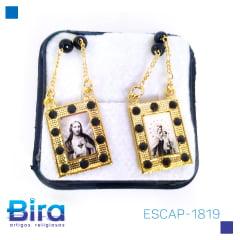 ESCAPULARIO CARMO FOTO QUADRADA - Cód. ESCAP-1819