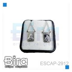 ESCAPULARIO INOX NS CARMO - CÓD. ESCAP-2912