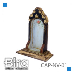 CAPELA  DE 15 CM  PARA  IMAGEM DE 8 CM - CÓD. CAP-NV01