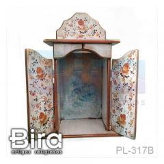 capela, madeira, oratorio