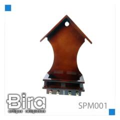 SUPORTE 20 CM M / B P/ SANTO C/PORTA CHAVES - CÓD. SPM001