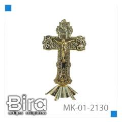 Bira Artigos Religiosos - CRUCIFIXO  DE METAL - CÓD. MK-01-2130