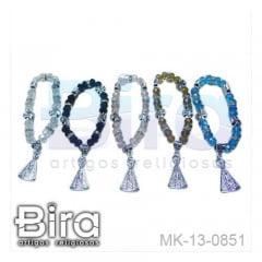 Pulseira Acrílica N. Sra. Aparecida - Cód. MK-13-0851