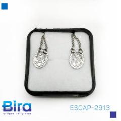 ESCAPULÁRIO INOX CARMO  cod:ESCAP-2913