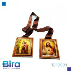 Bira Artigos Religiosos - ESCAPULÁRIO PORTA C/ STRASS 15 CM - CÓD. 1210501