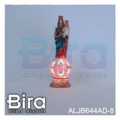N. Sra. Auxiliadora Com Led Colorido - 20cm - Cód. ALJB644AD-8