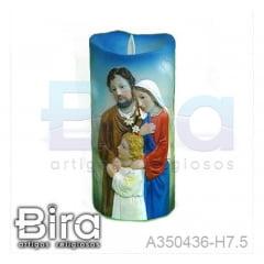 vela artificial resina sagrada familia