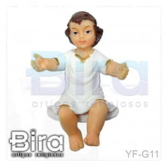 Menino Jesus 6 Und. - 5cm - Cód. YF-G11