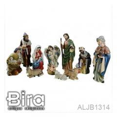 PRESÉPIO 11 PÇ - 25 CM - CÓD. ALJB1314