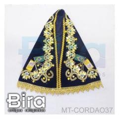 Manto Bordado Para Fac-símile N. Sra. Aparecida - 37cm - Cód. MT-CORDAO37
