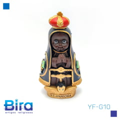 N. Sra. Aparecida Emborrachada Infantil - 8cm - Cód. YF-G10