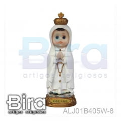 N. Sra. de Fátima Infantil - 20cm - Cód. ALJ01B405W-8
