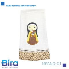 Bira Artigos Religiosos - PANO DE PRATO SANTO BORDADO