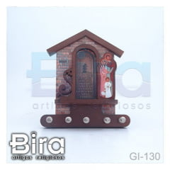 porta chaves sagrada familia 3d