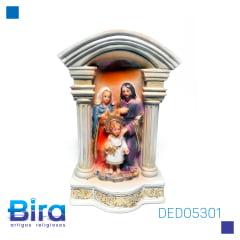 SAGRADA FAMÍLIA 13 CM - CÓD. DED05301