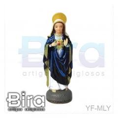 Sagrado Coração de Maria Emborrachada - 7cm - Cód. YF-MLY