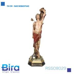 Bira Artigos Religiosos - 74 CM - SAO SEBASTIAO Cód. RSSO8029