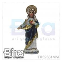 Sagrado Coração de Maria - 10cm - Cód. TX32361MM