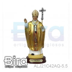 Papa João Paulo II - 15cm - Cód. ALJ21C42AQ-5.5