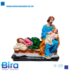 MARIA DESCANSANDO 40 CM COD.R-28