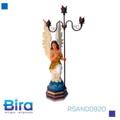 ANJO C/ CANDELABRO LD 90 CM - Cód. RSAN00920