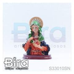 busto sagrado coracao de maria 8cm