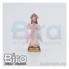 Jesus Misericordioso - 8cm - Cód. AGW1805-H3