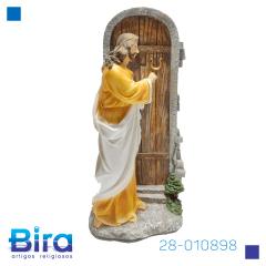 JESUS BATE A PORTA  30 CM - Cód. 28-010898