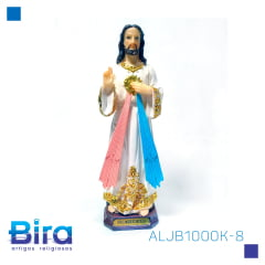 JESUS MISERICORDIOSO DE RESINA DE 20 CM - CÓD ALJB1000K-8