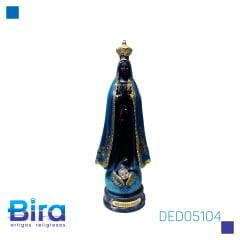 NOSSA SENHORA APARECIDA 16  CM - CÓD. DED05104