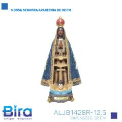 Bira Artigos Religiosos - NOSSA SENHORA APARECIDA DE 32 CM - CÓD. ALJB1428R-12.5