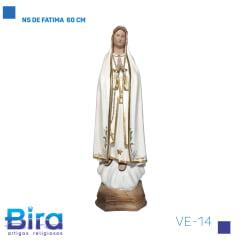 Bira Artigos Religiosos - NS DE FATIMA  60 CM Cód. VE-14
