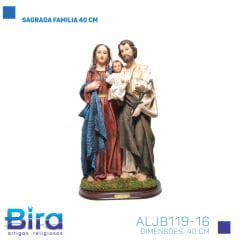 Bira Artigos Religiosos - SAGRADA FAMILIA 40 CM - Cod. ALJB119-16