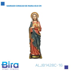 Bira Artigos Religiosos - SAGRADO CORACAO DE MARIA 40.6 CM Cód. ALJB1428C-16